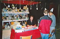 Journée du Livre 14, auteur, Yannick Messager, Cossé 2004
