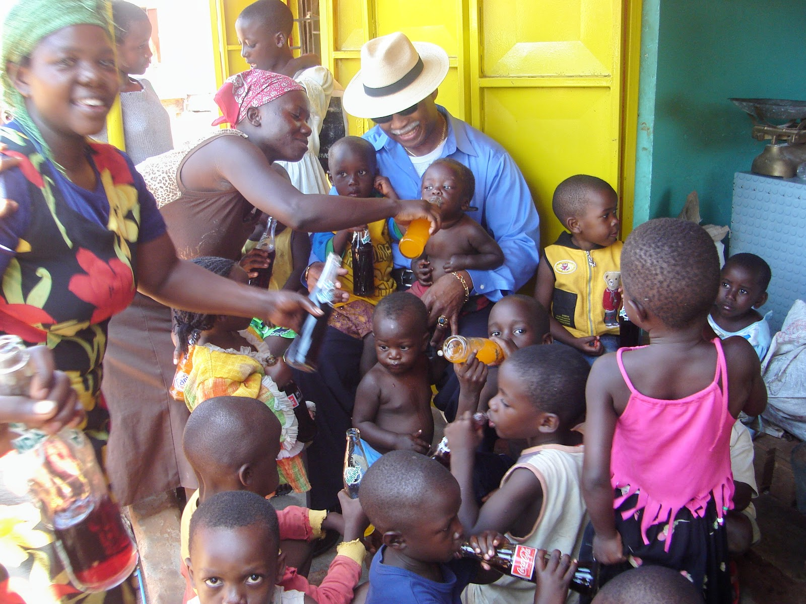 Gil Figaro in Uganda, Africa April 2008