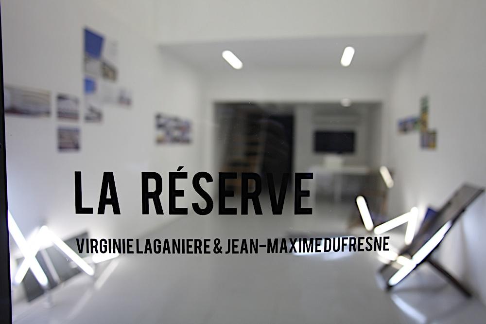 Jean Maxime Dufresne & Virginie Laganière: La réserve.