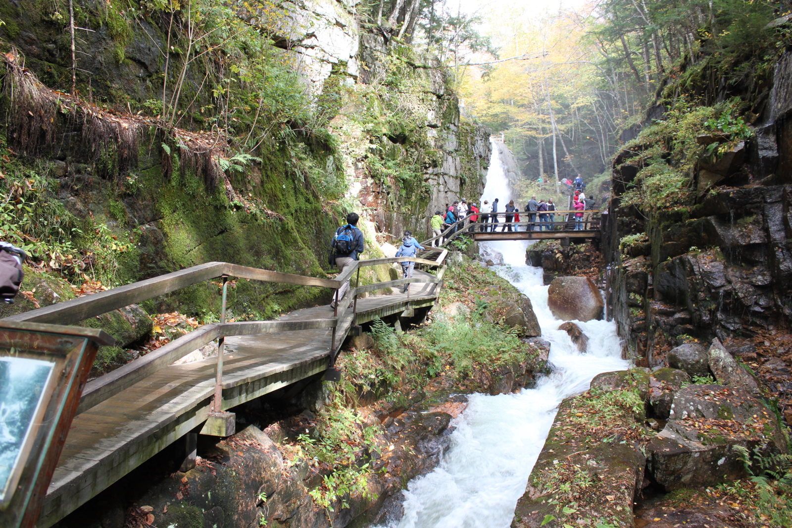 The Flume Gorge - White Mountains, New Hampshire