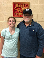 """Amelia Mason and Jerry Last scheduled lessons for Amelia. She is moving to Clover, South Carolina. Amelia plays for the South Carolina Elite 12U out of Greenville, SC. Jerry will continue to work with Amelia monthly. """"We're not over yet,…"""