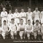 Crescent College Senior Cup Team 1956-57
