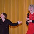 Adeline Stern et la réalisatrice Barbara Ern pour son film