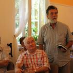 Fésűs József György, a Börzsöny Múzeum Baráti Körétől az ipolyságiakkal érkezett