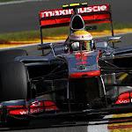 Lewis Hamilton McLaren MP4-27