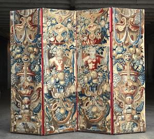 Гобелен 4 серии XVI век. 190/56 см/шт.