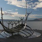 The only surviving Viking ship in Reykjavik :-)