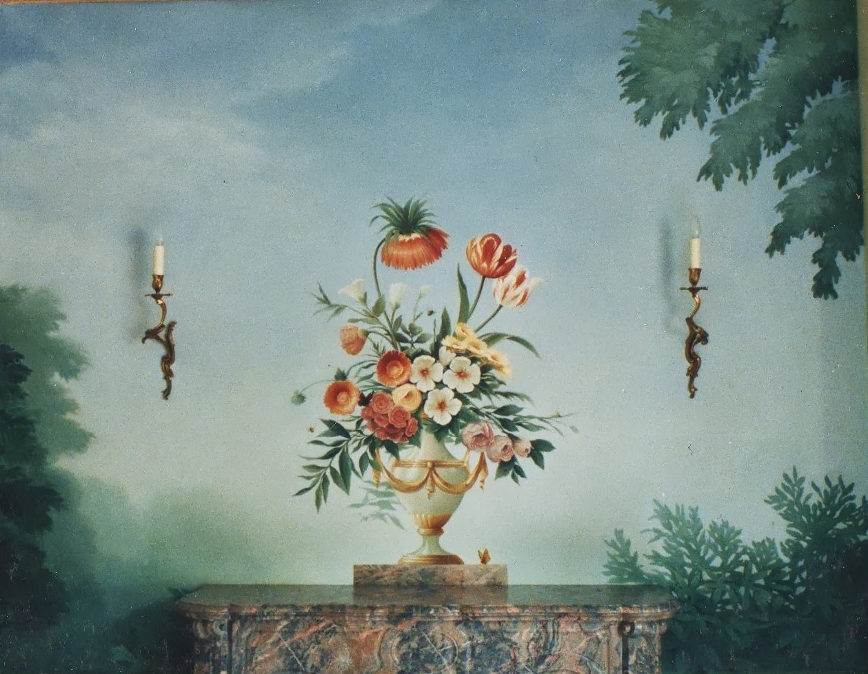 'zuber' flower painting