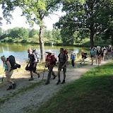 Den 10. (pondělí 7. 7.) - ráno se týmy potkávají, mladší se vydávají zpět do tábora, starší jdou prozkoumat ještě vzdálenější oblasti