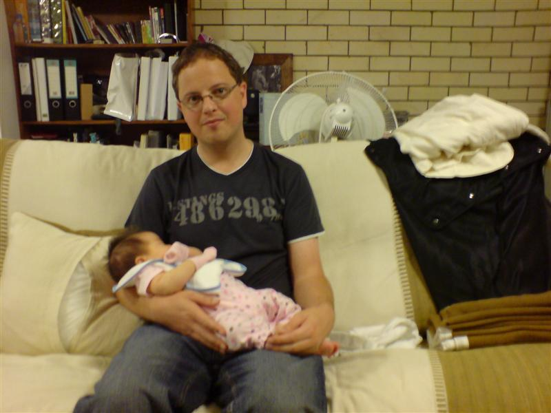 Jessica (3 months) and I