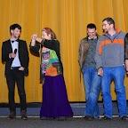 David FUEHRER et Cyril BRON (les deux réalisateurs) avec les protagonistes du film: Frédérique, Emmanuel, Alain, Isabelle et Christine