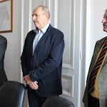 Balról jobbra: Knirs Imre alpolgármester, Konštantín Glič és Ondrej Gajdáč képviselők