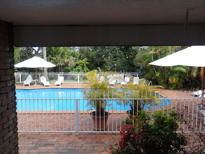 The view from my room in Coffs Harbour