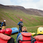 East Glacier River in North Iceland, difficulty 4+ out of 5