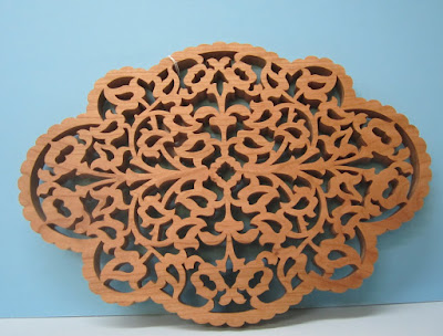 Victorian Fretwork Trivet by Richard Preator Scroll Saw Woodworking & Crafts Holiday 2005