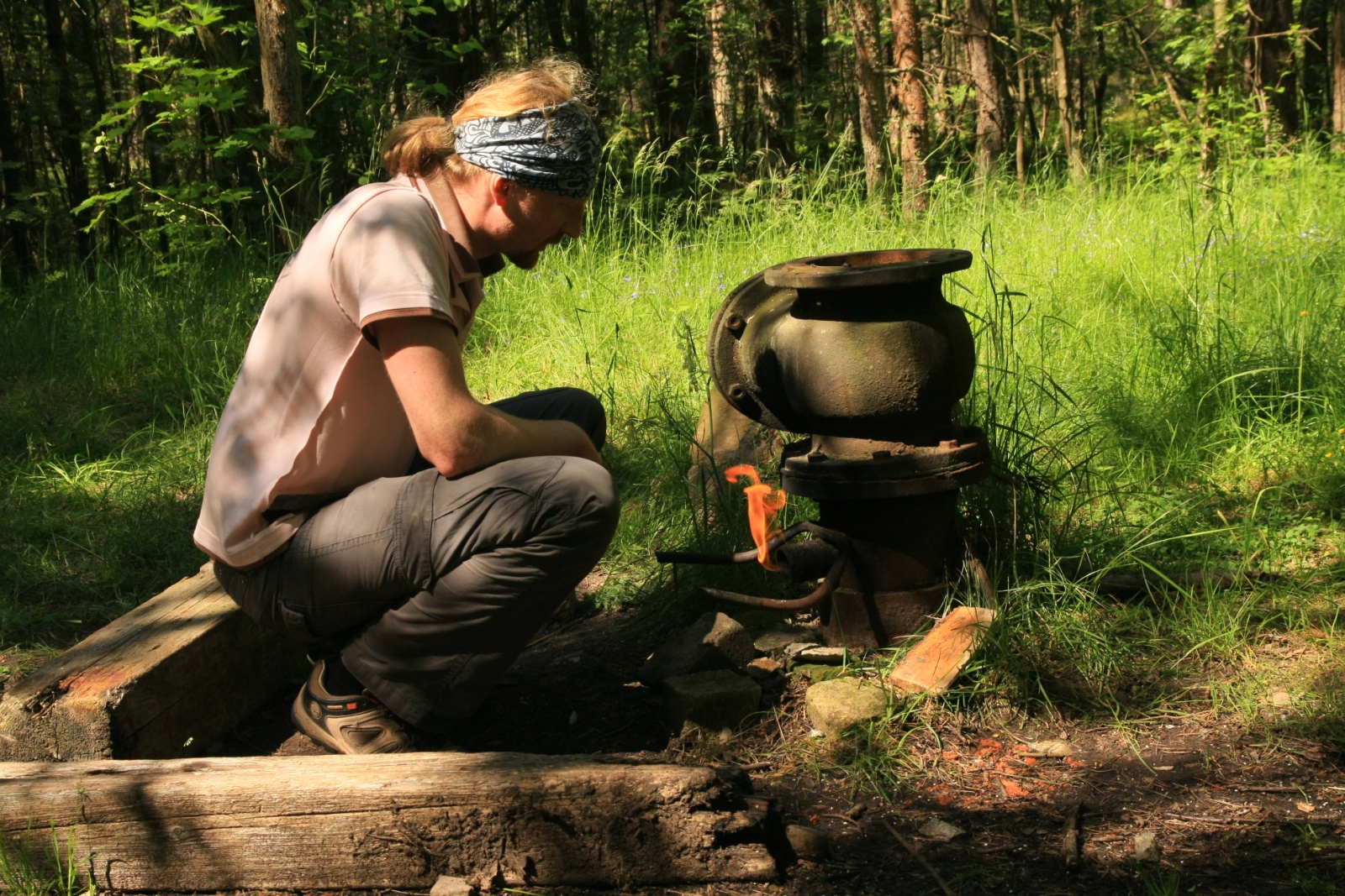 Prangli is the only place in Estonia where natural gas is found, but locals don't use it seriously