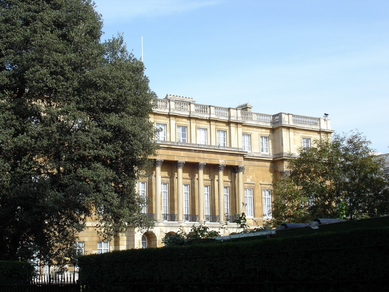 Clarence House on The Mall