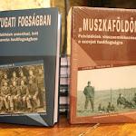 """A """"Muszkaföldön"""" aszovjet hadifogságba kerültekről szól, míg aNyugati fogságban című kötet az angol, amerikai vagy más nyugat-európai fogságba kerültek tábori életét mutatja be"""
