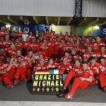 Last Ferrari photo Schumacher, 2006 Brazil F1 GP