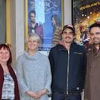 Adeline STERN, Elodie BRUNNER (co-productrice du film), Baptiste GILLIERON (acteur principal) et Mathieu URFER (le réalisateur du film