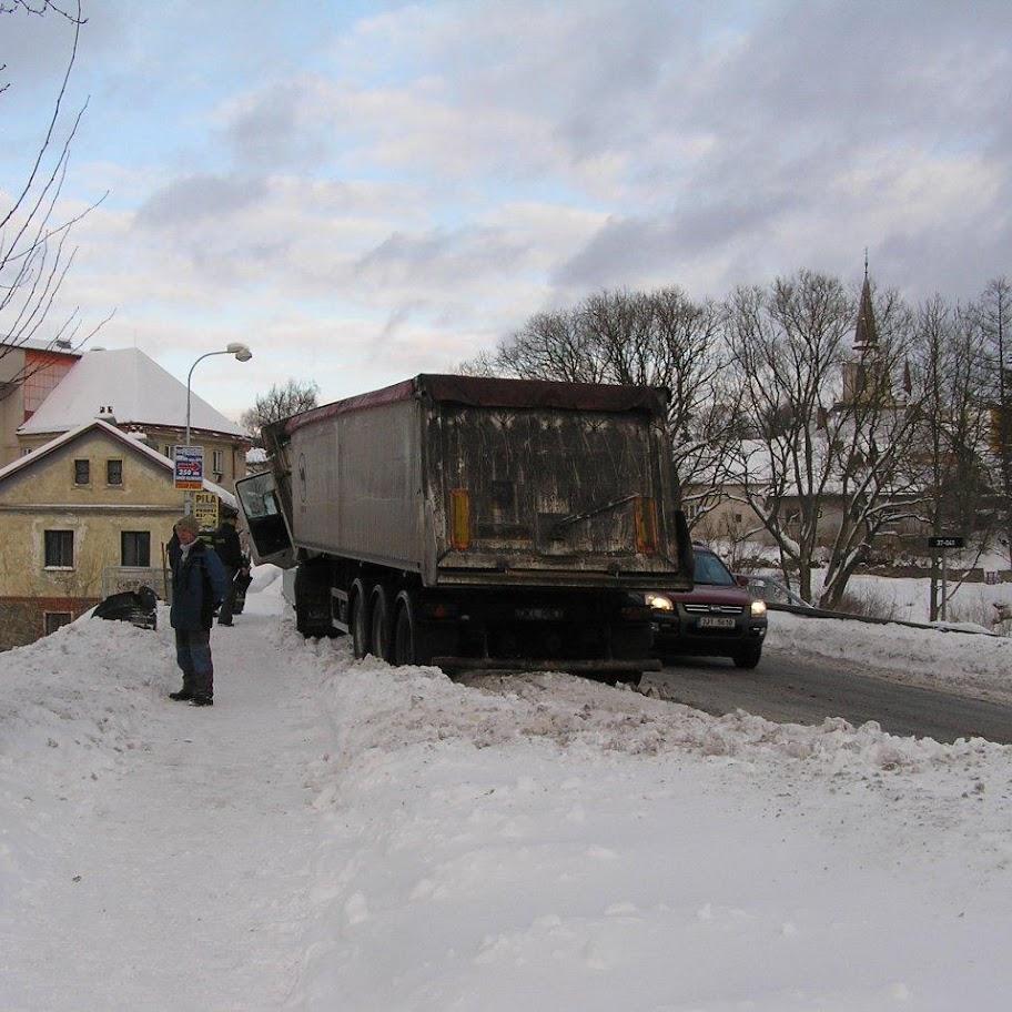 Nehoda kamionu - P1280081