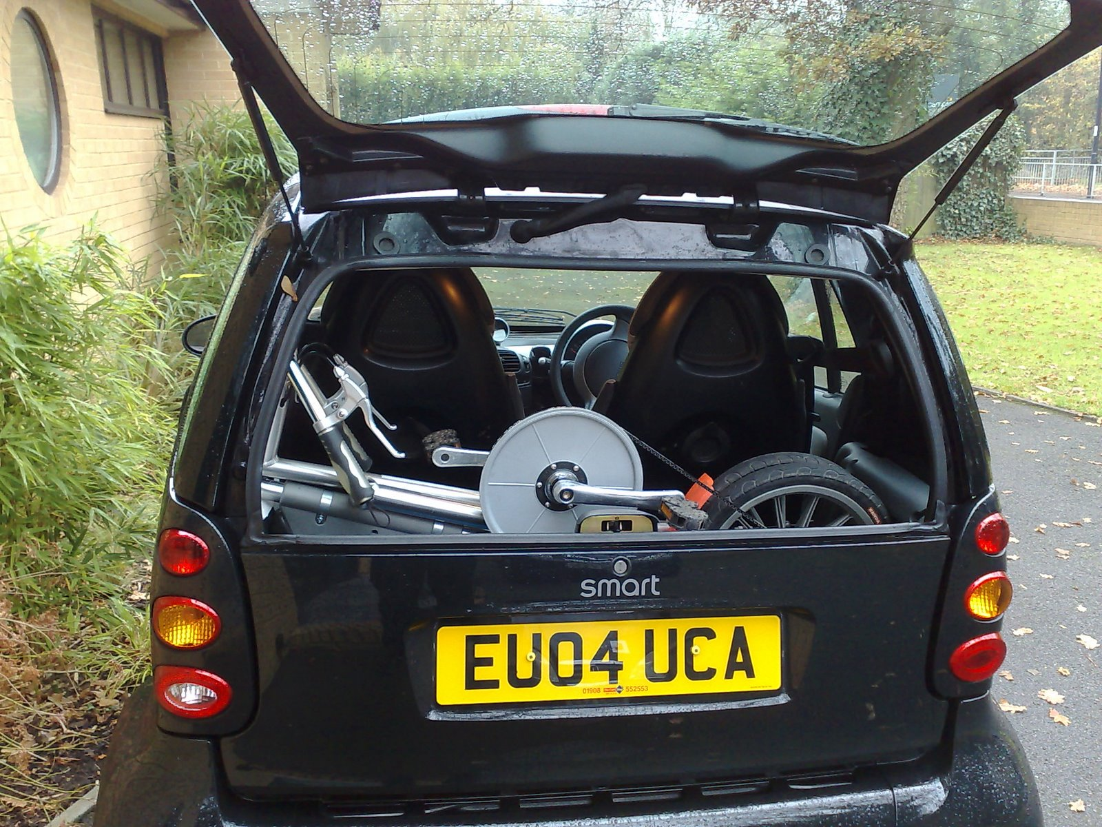 1, 2 or 3 in Electric Smart Car