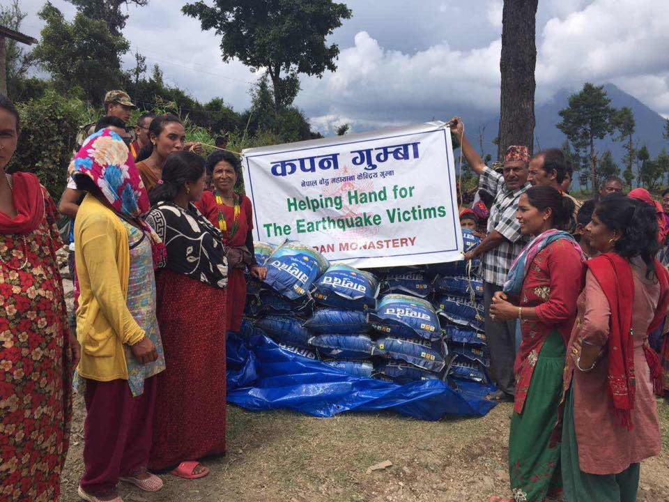 More receivers of aid from Kopan Helping Hands.