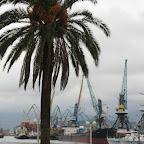 The port of Batumi on the Black Sea