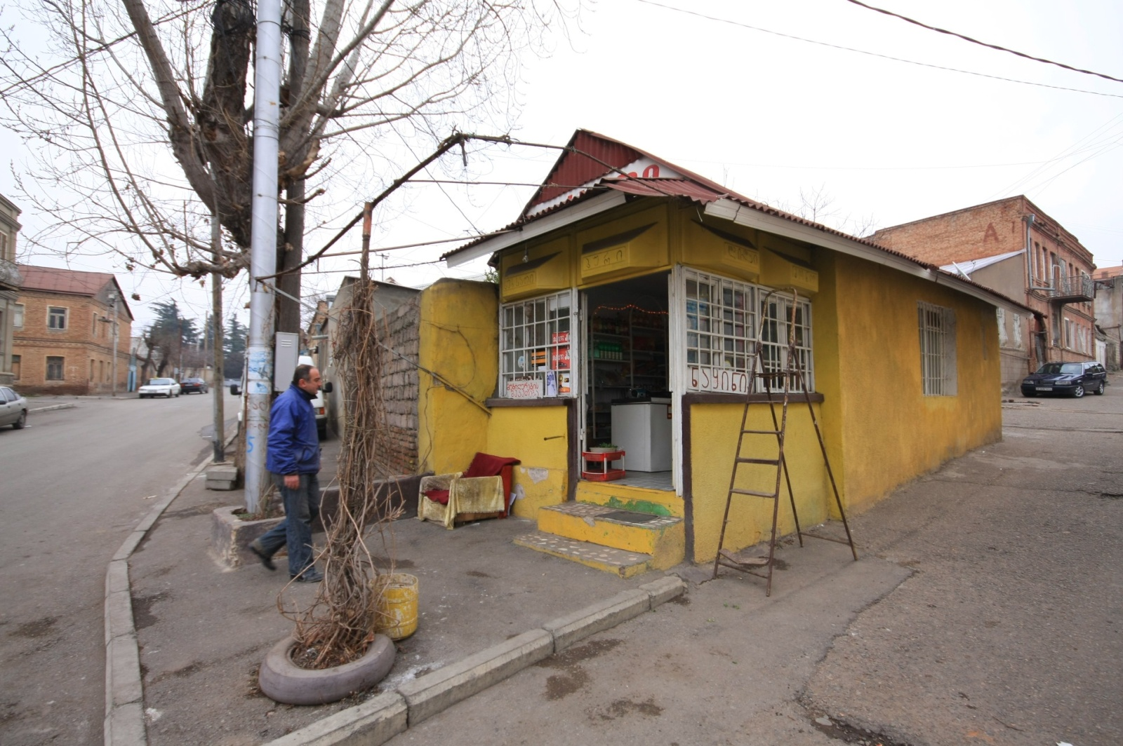 A typical place to grab a beer, or even better, some authentic Soviet-style lemonade