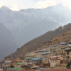 Evening in Namche Bazaar