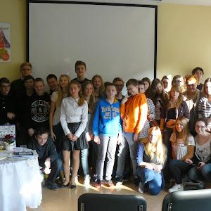 2014 rok - Wykład o ks. Hilarym Jastaku w Zespole Szkół Ogólnokształcących nr 5 w Gdyni