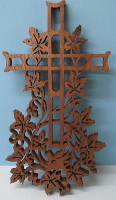 """Ivy Cross by John A. Nelson  1/2"""""""