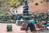 1996 - Construction of Back of the Temple