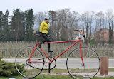 Near Colmar on the Alsace Easter tour