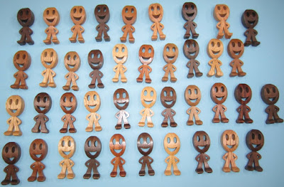 Smiley People Pattern by Diana Thompson