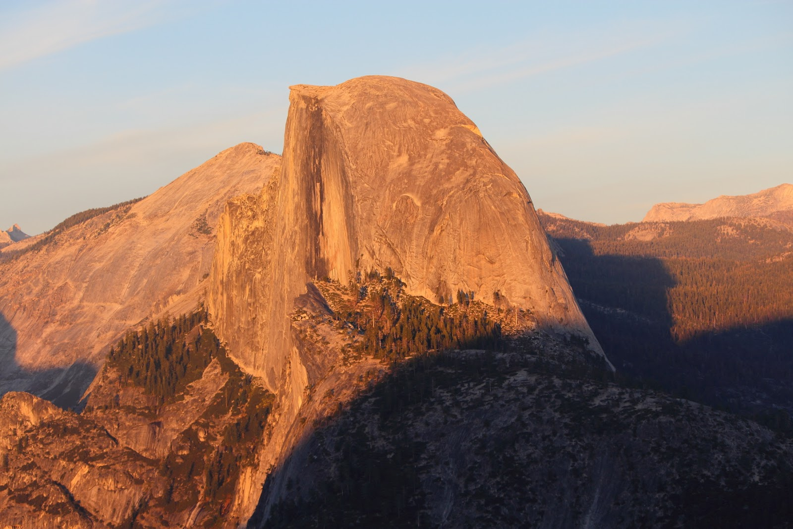 Half Dome seen from Glacier Point