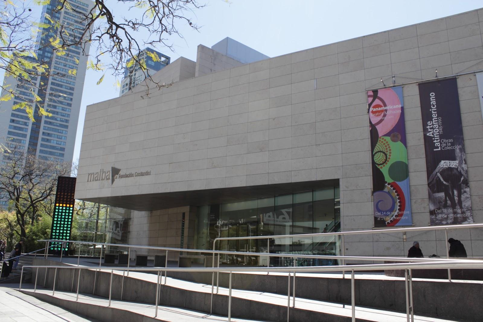 MALBA - Museo de Arte Latinoamericano de Buenos Aires (Latin American Art Museum of Buenos Aires)