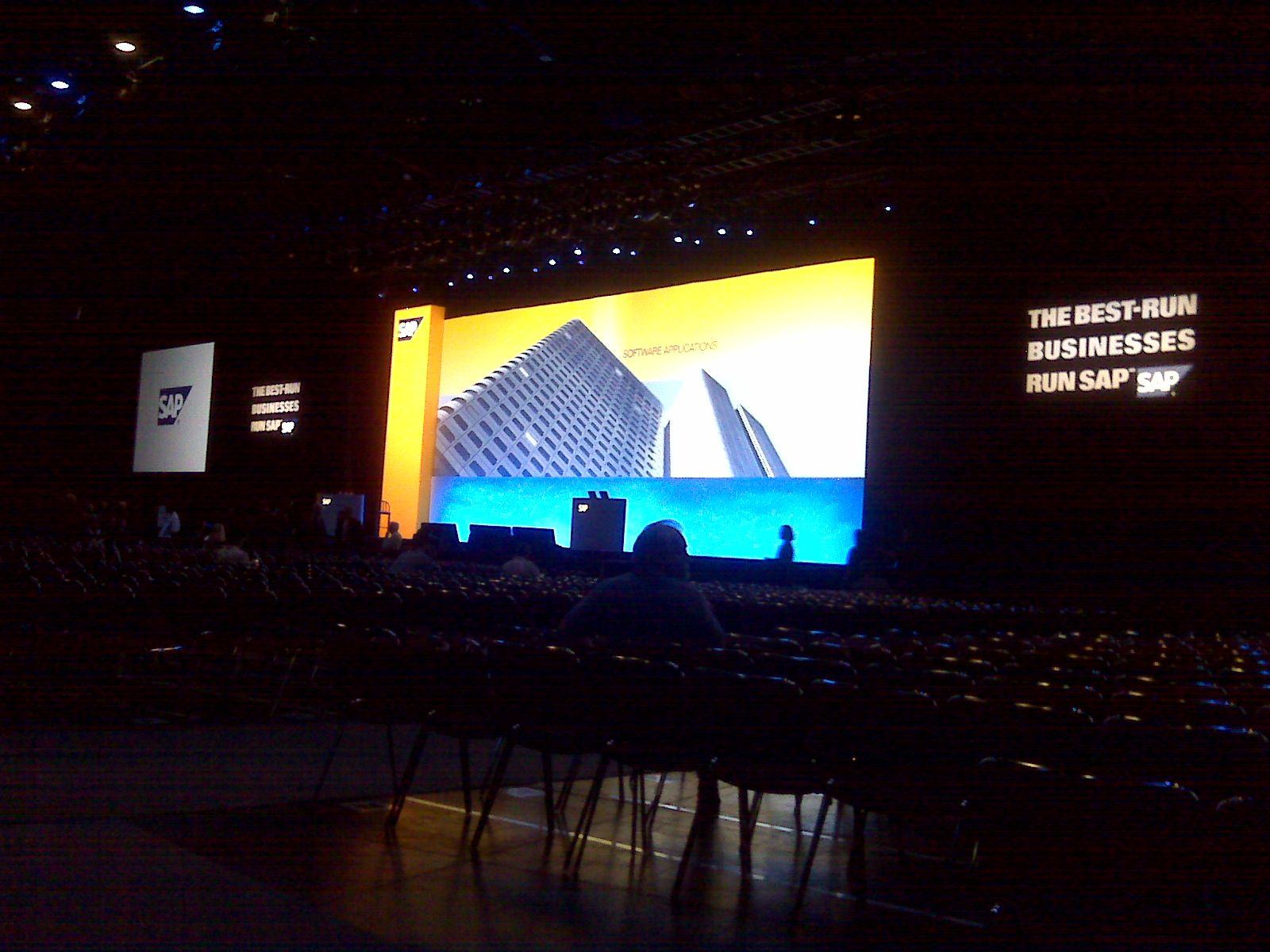 The main key note thearte that held all 10,000 of us