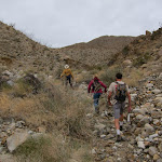 Trail into Rockhouse Canyon was a little hard to find in the beginning
