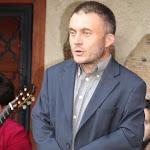 Batizi Zoltán, a szobi Börzsöny Múzeum igazgatója köszönti a vendégeket