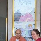 06_Souper devant l'affiche du premier film de la soirée.JPG