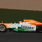 Force India VJM05 Mercedes shake