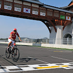 Felipe Massa on bike