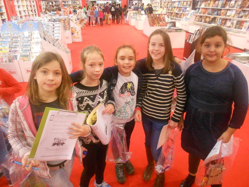 5de leerjaar Antwerpen en boekenbeurs