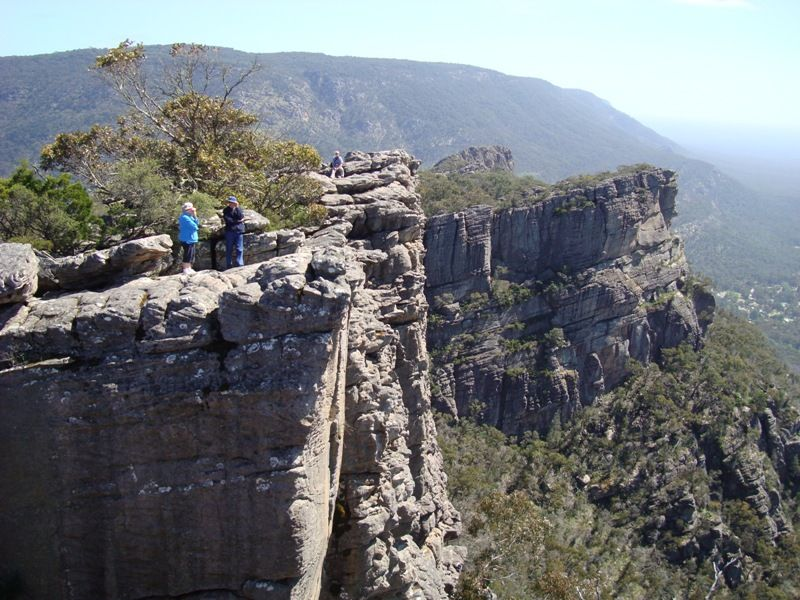 The view from the Pinnacles