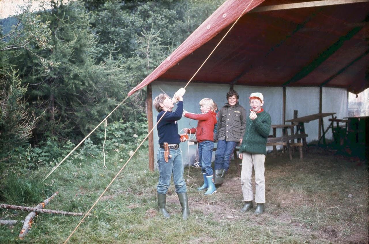 1981 Sommerlager JW - SolaJW81_018