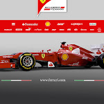 Ferrari F2012 right side