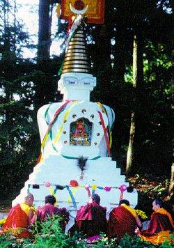 Enlightenment Stupa, Canada.