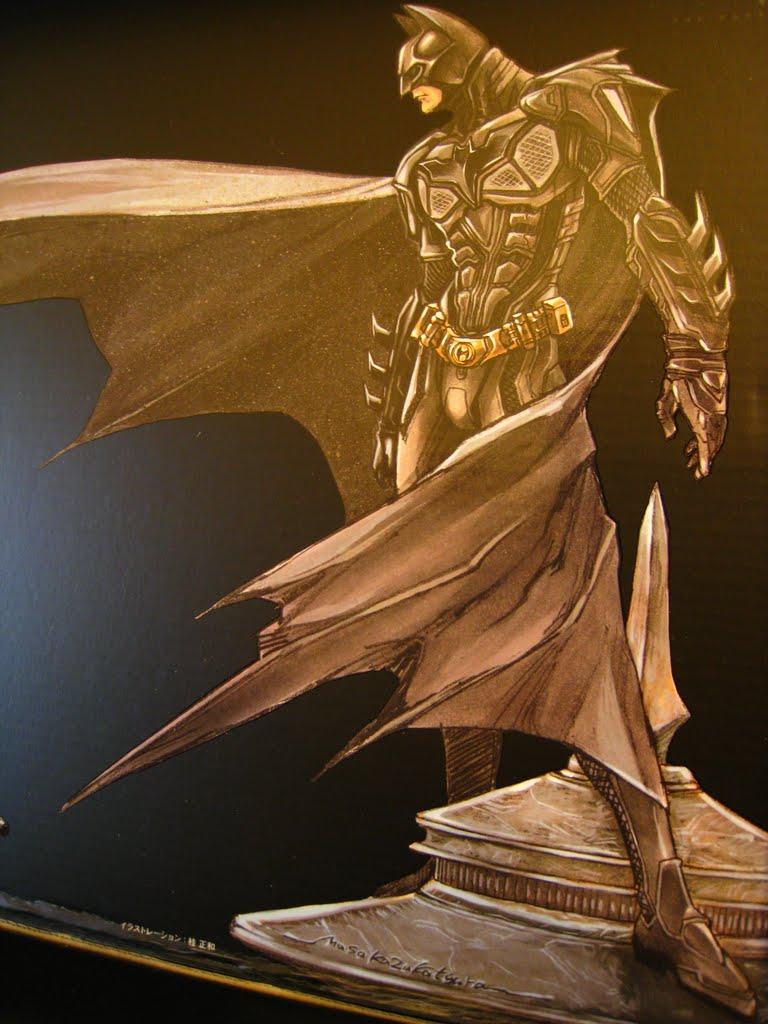 來張近的 很清楚看到蝙蝠裝的外型 有很大的修改 基本型跟電影還是相同