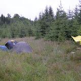 Starší - puťák: Postavit tábořiště jsme přesto zvládli